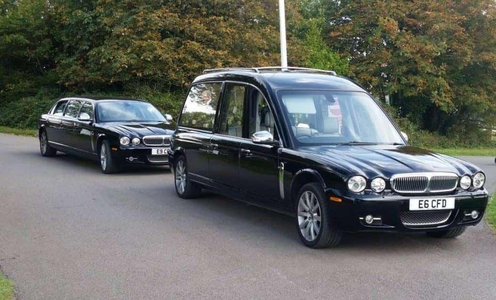 funeral car fleet